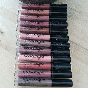 NYX Lingerie Lip Set of 12!